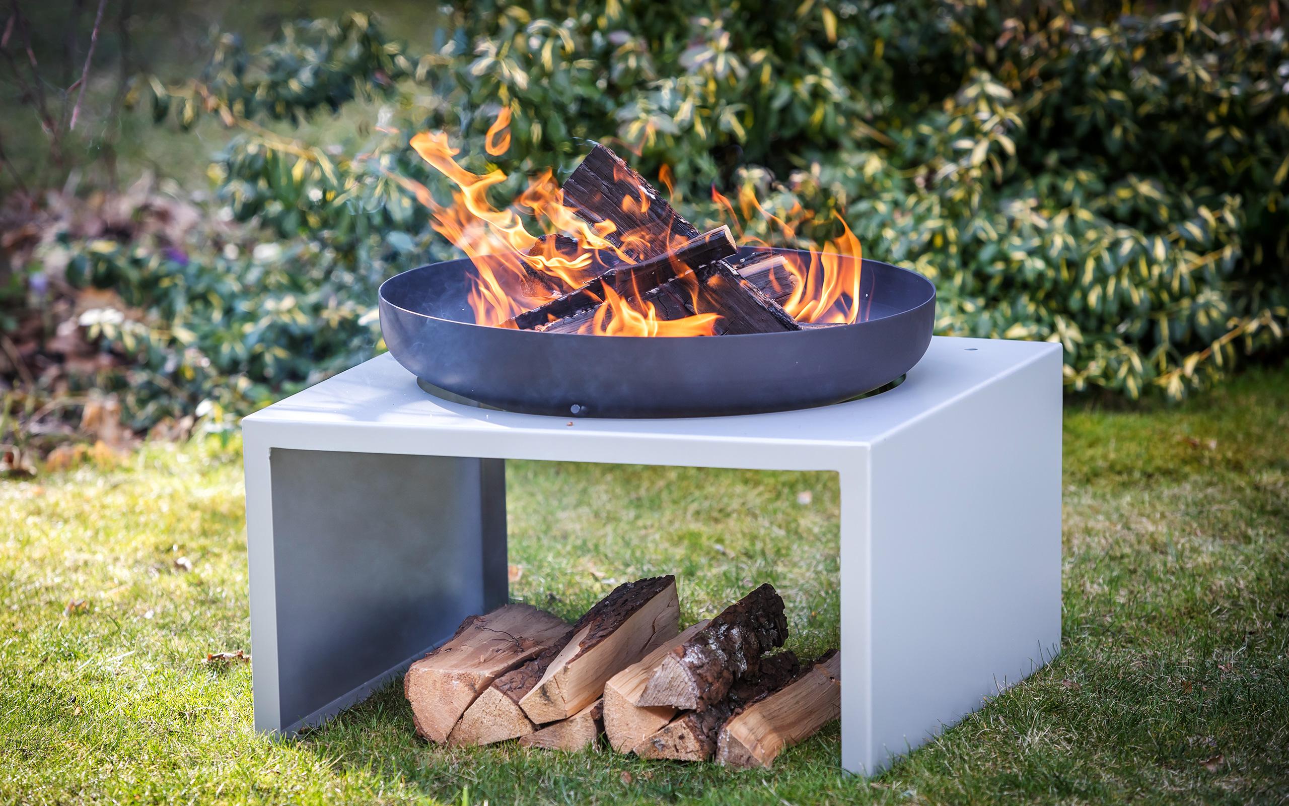Gartenstimmung - Feuerschale Moderne