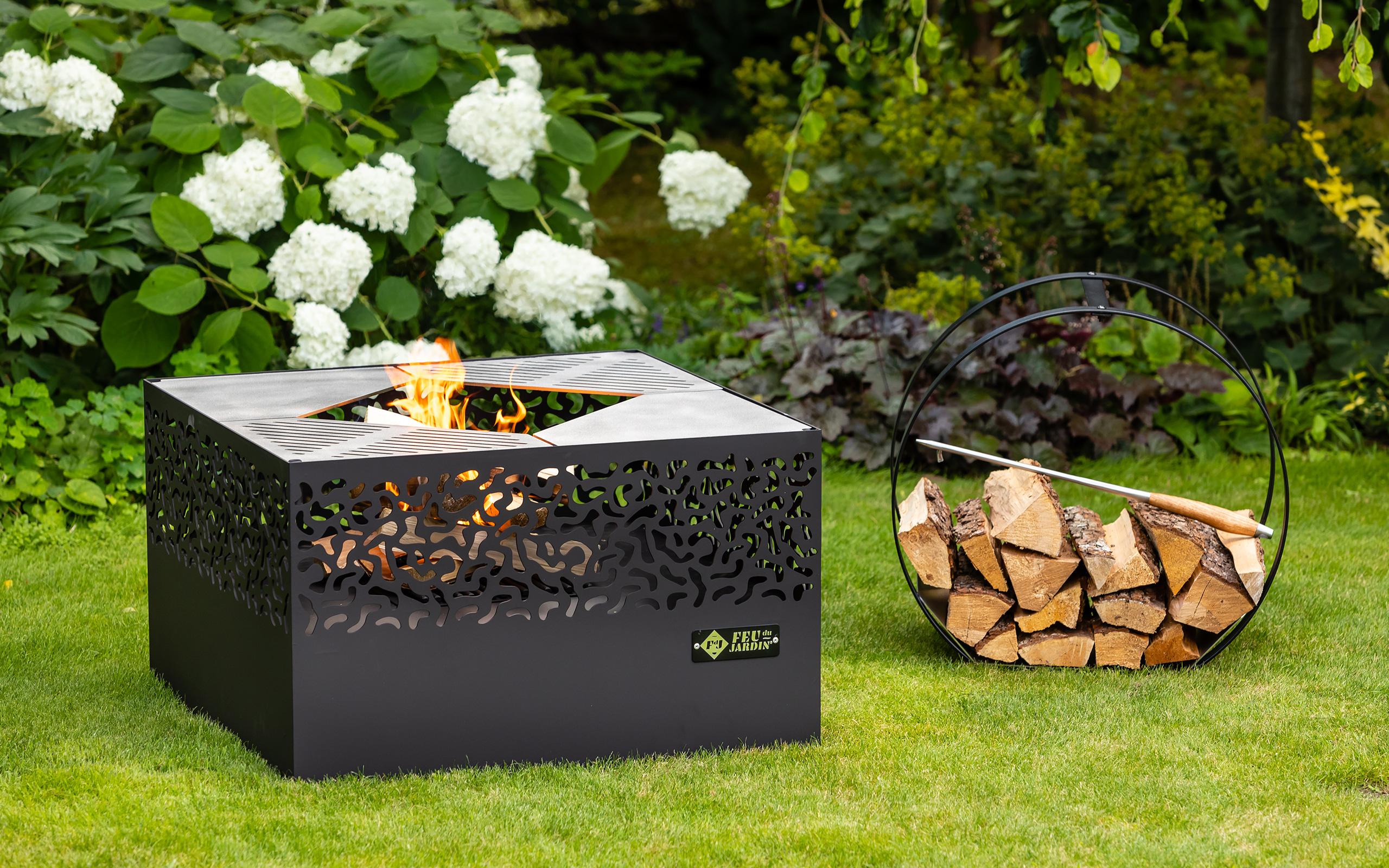 Traumgarten mit Feuerschale - Feu du Jardin