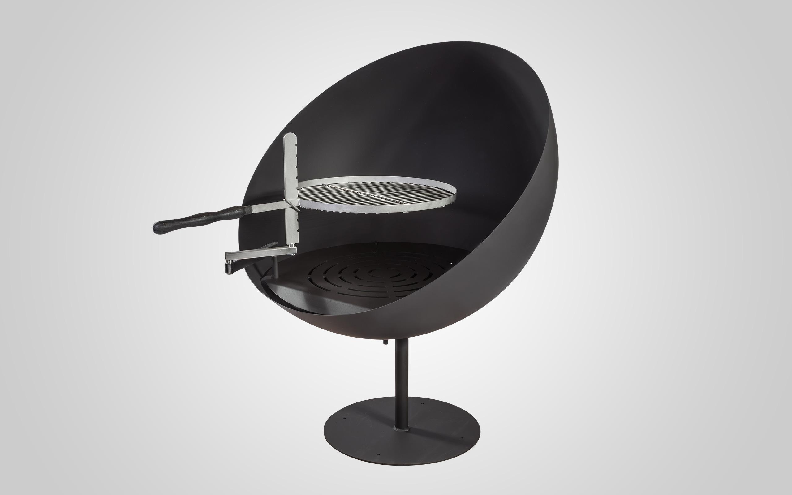 Packshot - Feuerschale Lune mit passendem Grillrost
