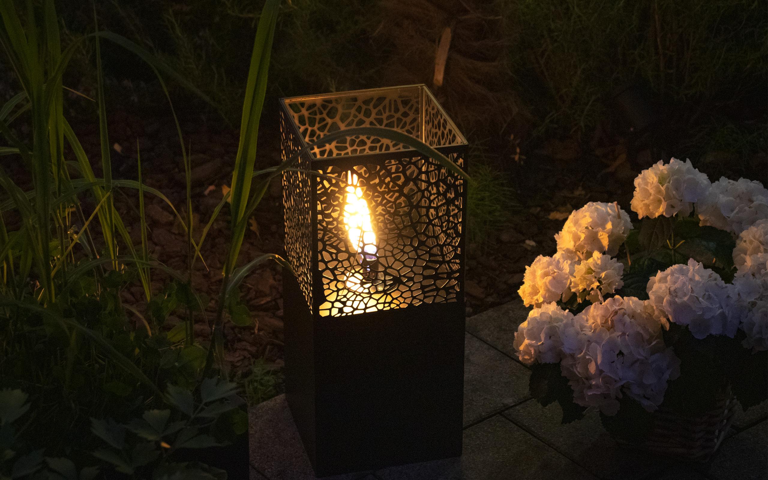 Gartenstimmung mit Oelleuchten - Feu du Jardin
