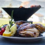 Grillfood - zubereitet auf dem Fyro 80 - Feu du Jardin