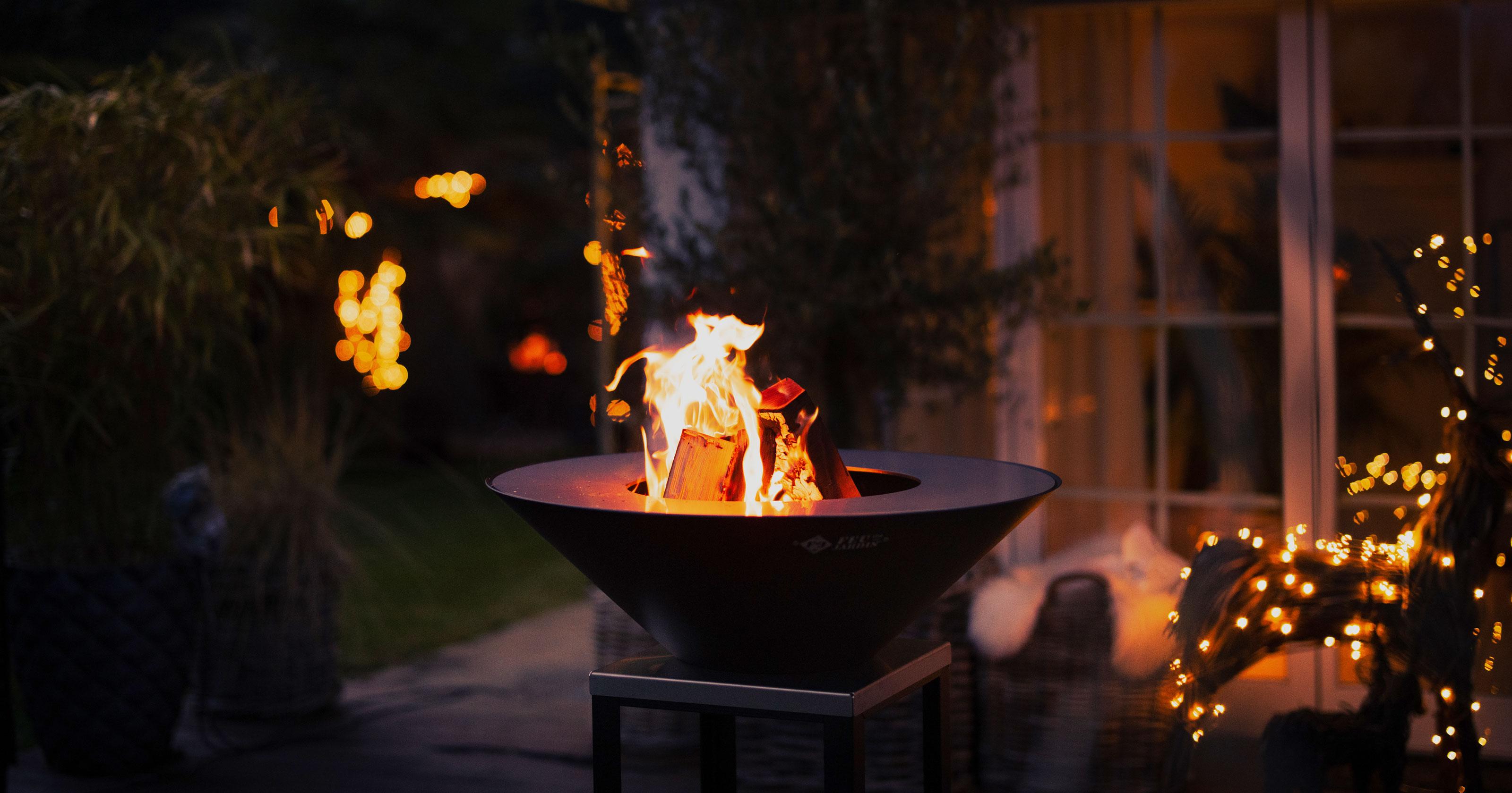 Feuerschale Fyro 80 - Winterstimmung